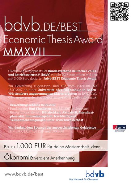 Makovsky Best Master's Thesis of the Year Award