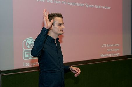 Sven Jürgens, Marketing Manager, LITE Games